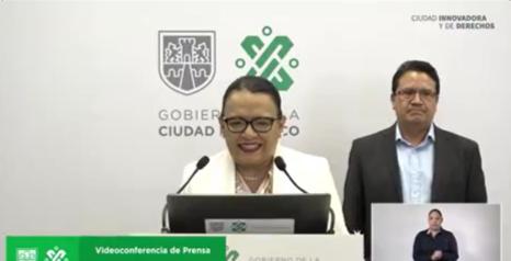 Videoconferencia de prensa Gobierno de la CDMX 17 de abril