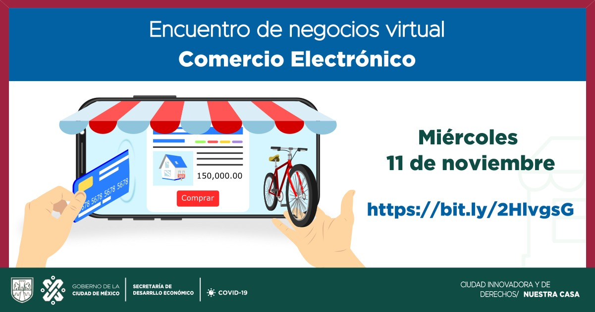 Información del evento: Encuentro de Negocios Virtual Comercio Electrónico