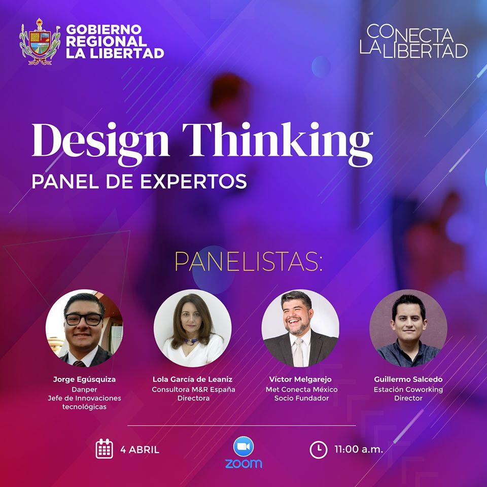 Design Thinking, un panel que no puedes perderte?