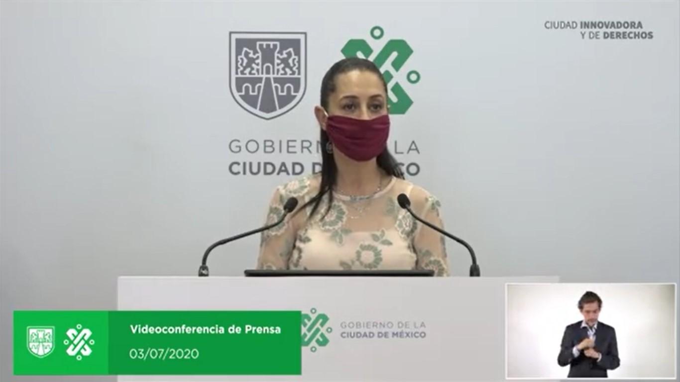EN VIVO CONFERENCIA DE PRESA CON LA  DE GOBIERNO 03 DE JULIO