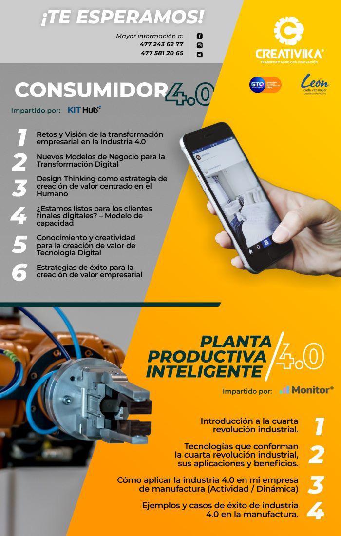 Webinar: Consumidor 4.0 y Planta Productiva Inteligente 4.0