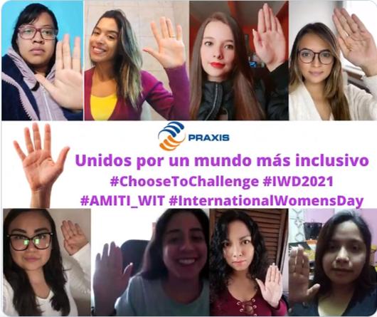 AMITI Y PRAXIS Unidos por un mundo más inclusivos