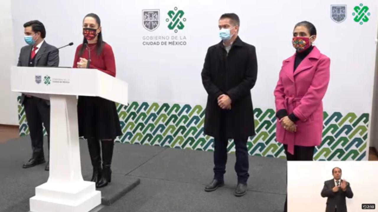 Anunciamos estrategia integral de atención COVID-19 en la Ciudad de México con IMSS