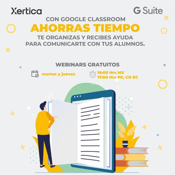 Inscríbete a los webinars gratuitos que ofrece Xertica