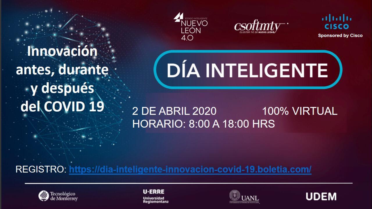 Día Inteligente: Innovación antes, durante y después del COVID 19