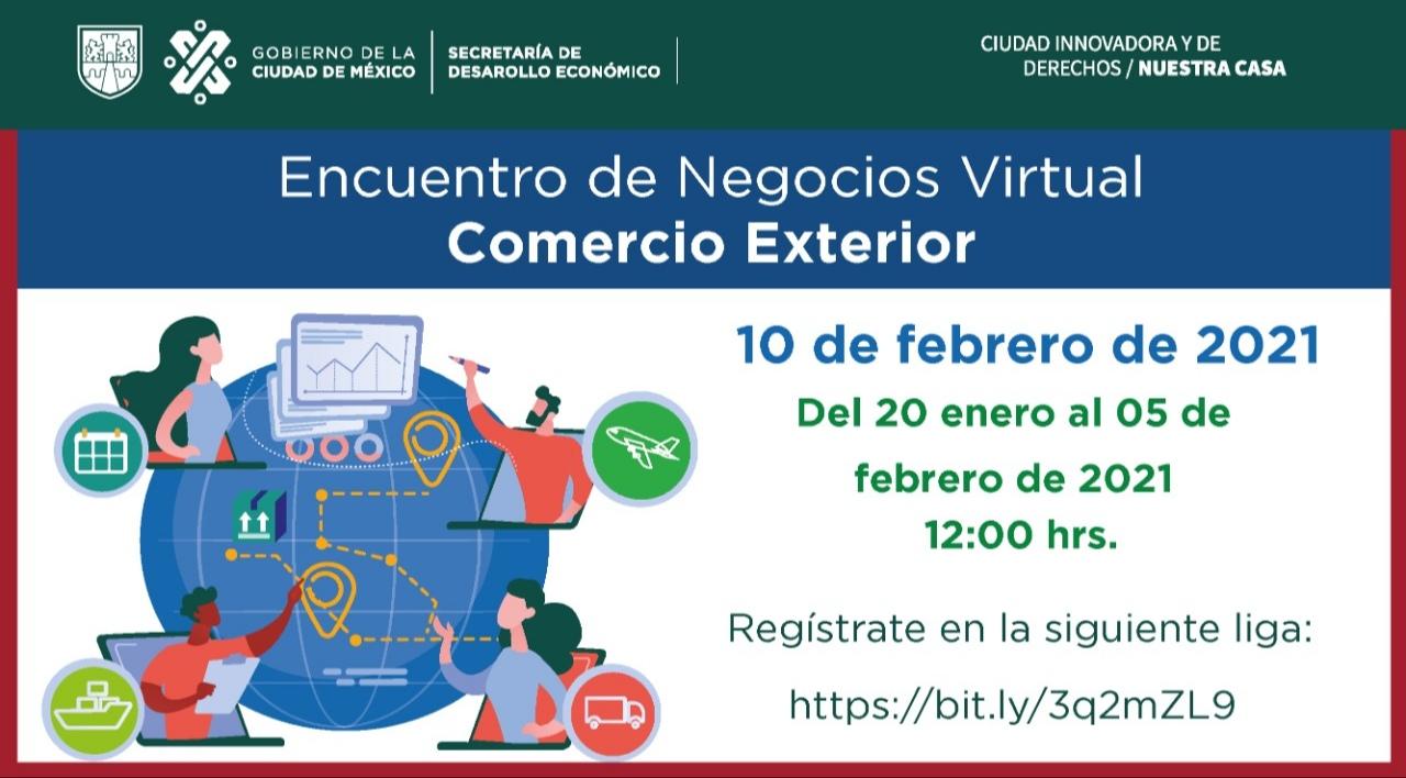 Encuentro de Negocios Virtual Comercio Exterior