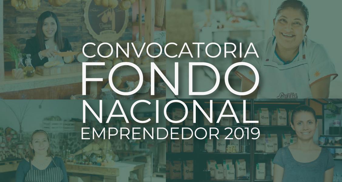 Convocatoria pública para acceder a los apoyos del Fondo Nacional Emprendedor 2019