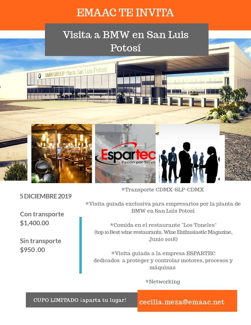 Visite con nosotros la fascinación de la producción del Serie 3 en la nueva planta de BMW Group San Luis Potosí.