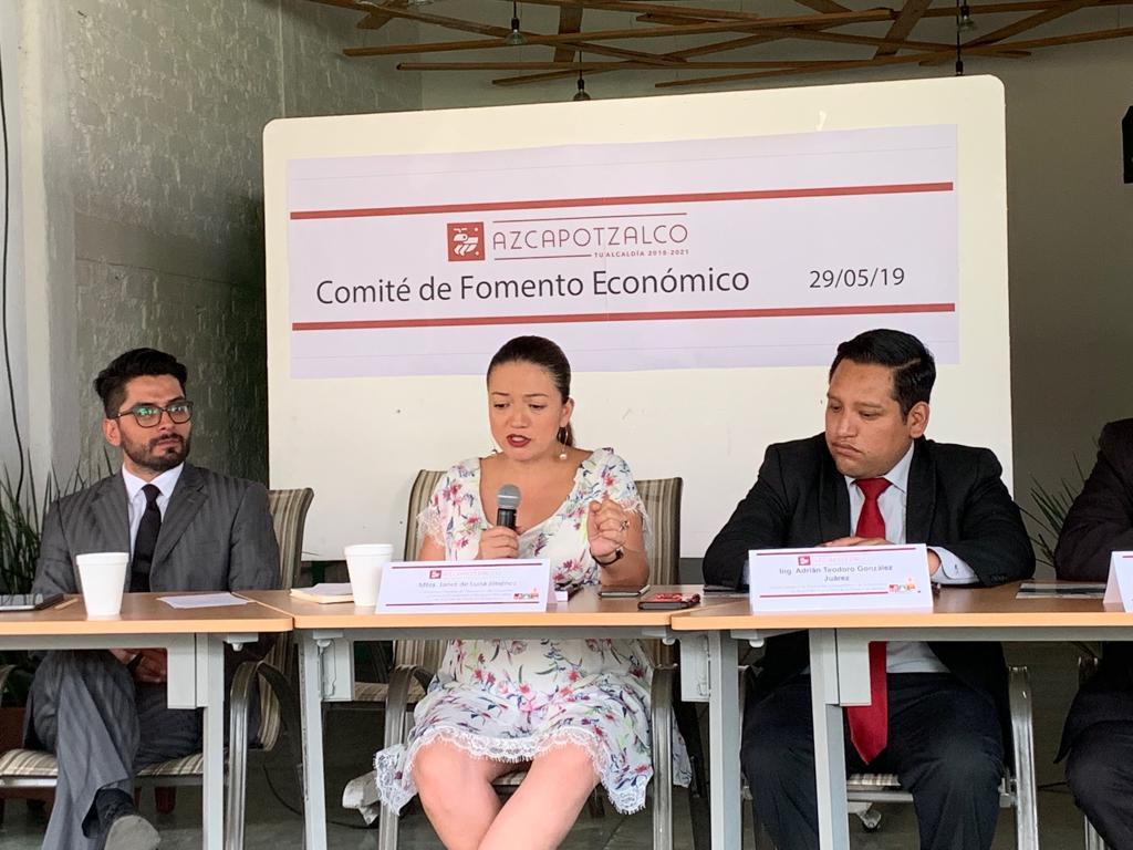 Primera Asamblea del Comité de Fomento Económico de Azcapotzalco