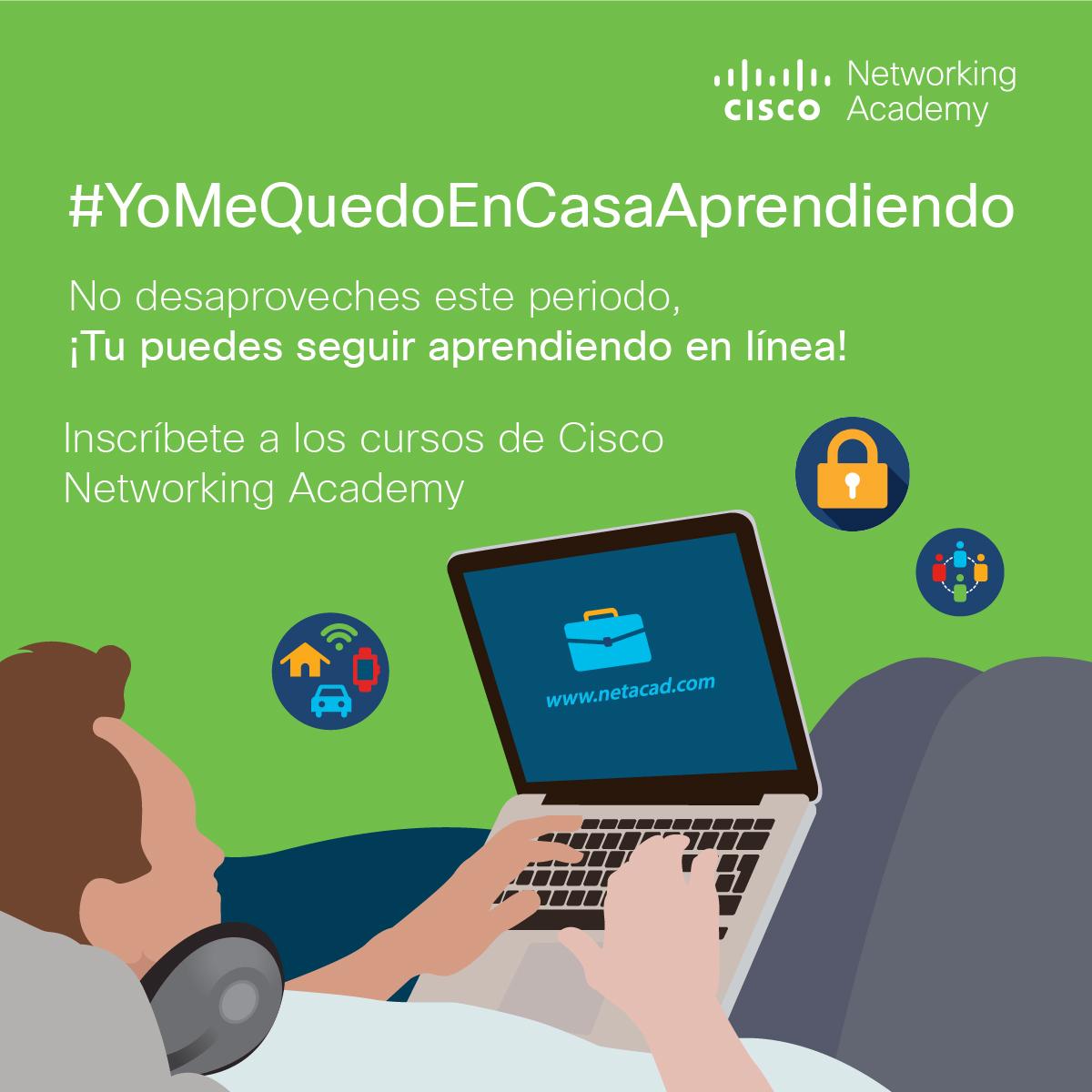 Cisco Networking Academy El aprendizaje no tiene que detenerse en estos tiempos difíciles