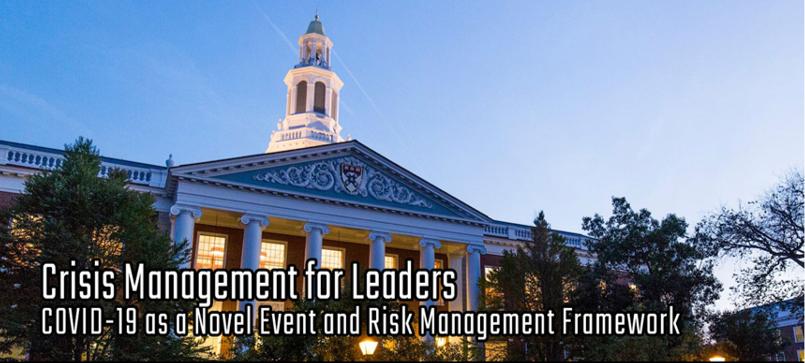 COVID-19 as a Novel Event and Risk Management Framework. Bajo demanda