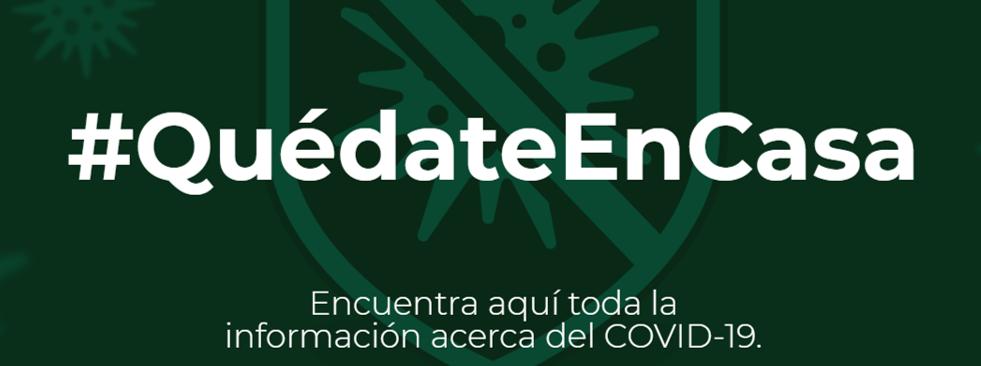 Mensaje importante sobre el Covid-19 hoy lunes 30 de marzo. #QuédateEnCasa