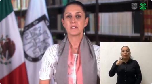 Mensaje de la Jefa de Gobierno Claudia Sheinbaum 19 de marzo 22:00