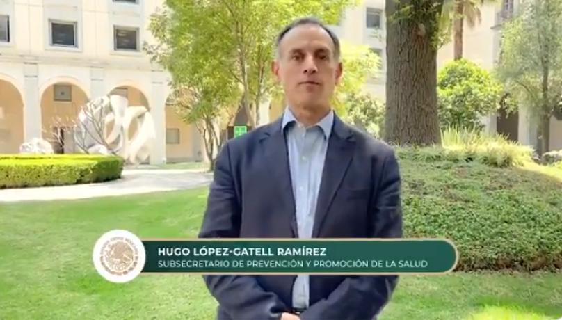 Indicaciones de Hugo López-Gatell Ramírez