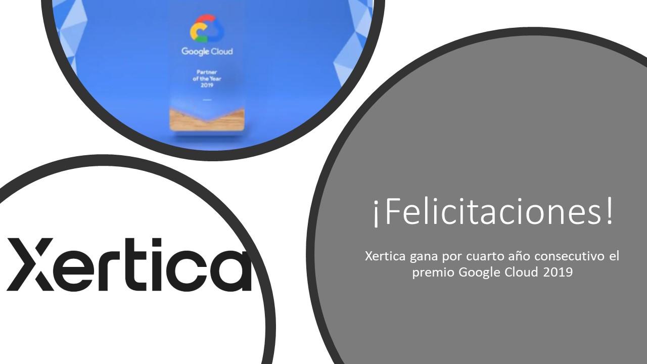 Xertica gana por cuarto año consecutivo el reconocimiento de Google Cloud.