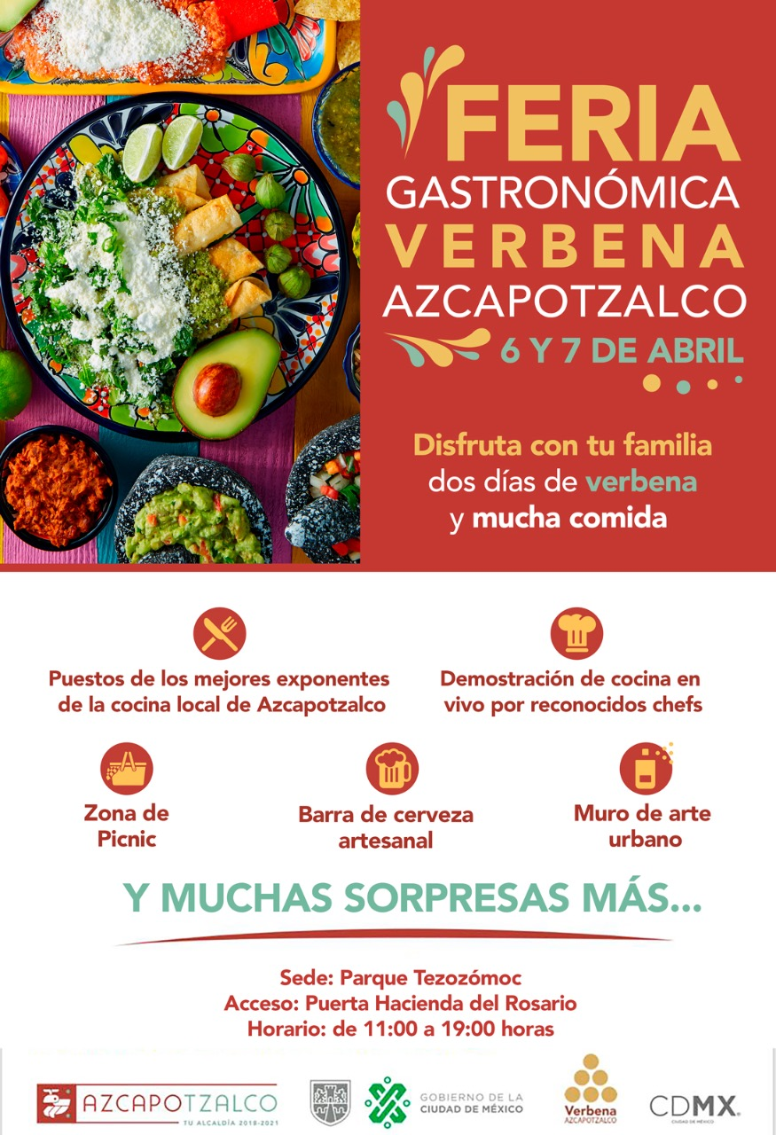 Feria Gastronómica Verbena Azcapotzalco