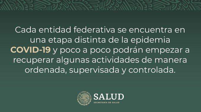 La epidemia de COVID 19 en México no ha terminado.