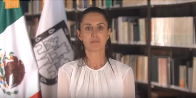 Mensaje de la Jefa de Gobierno Claudia Sheinbaum 17 de marzo 17:00