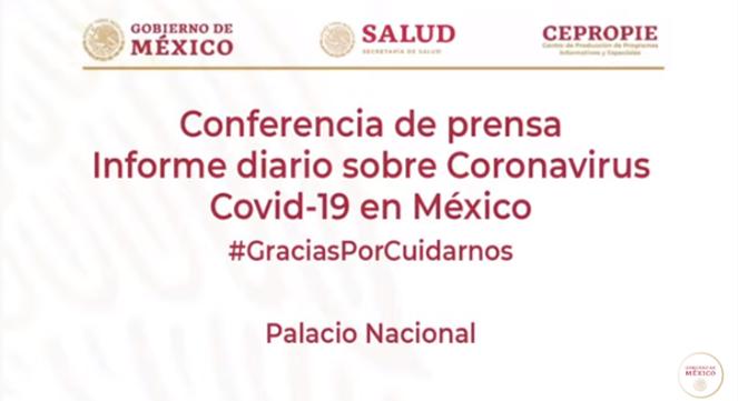 Conferencia de Prensa COVID 19 | 10 de julio de 2020
