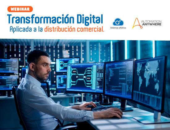 WEBINAR: Transformación  Digital aplicada a la  Distribución Comercial Jueves 14 de mayo