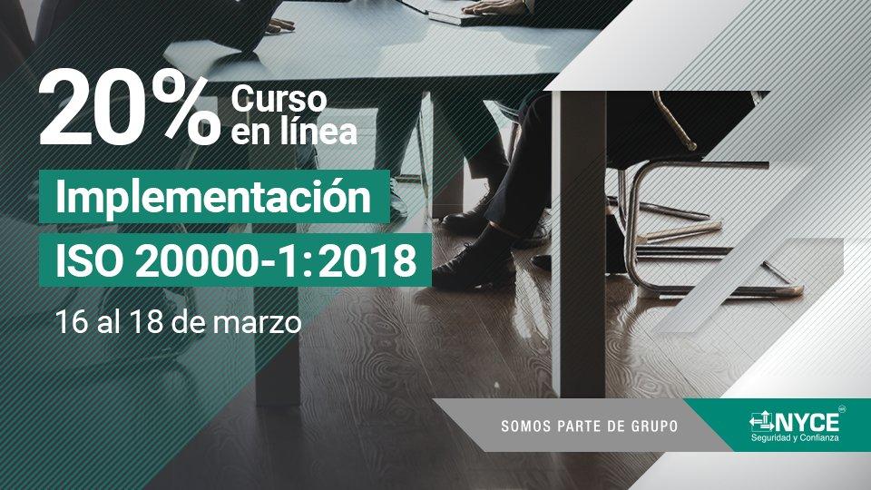 Implementación de la Norma ISO 20000-1:2018