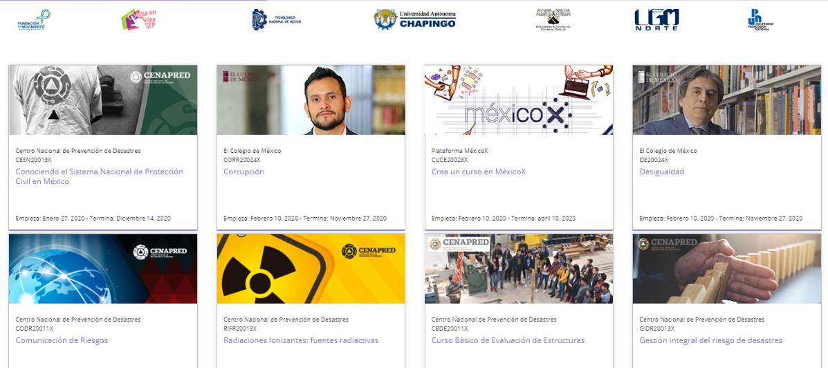 Cursos en español que puedes atender en línea