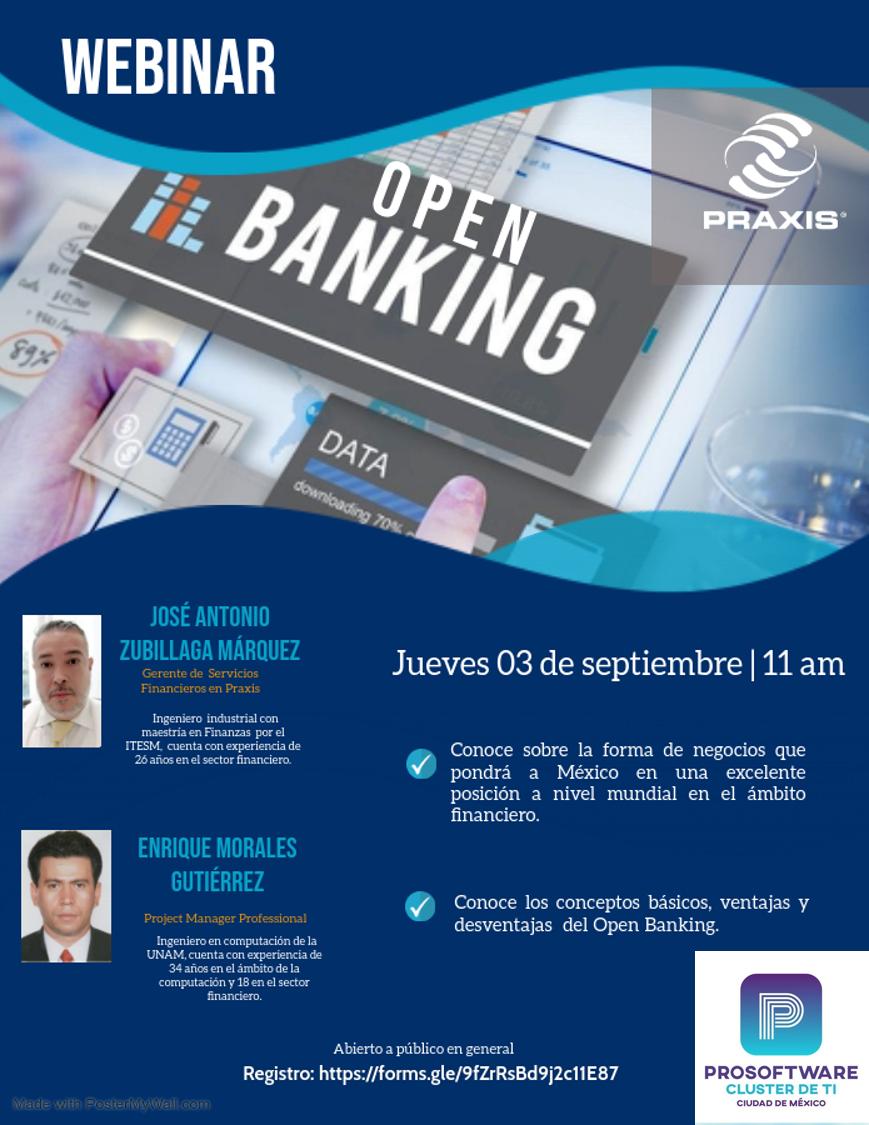Open Banking. 03 de septiembre 11:00 am