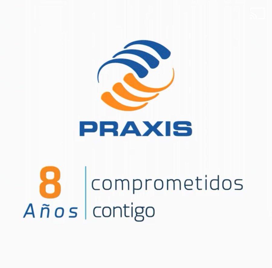 Praxis reconocida como Empresa Socialmente esponsable por 8va vez