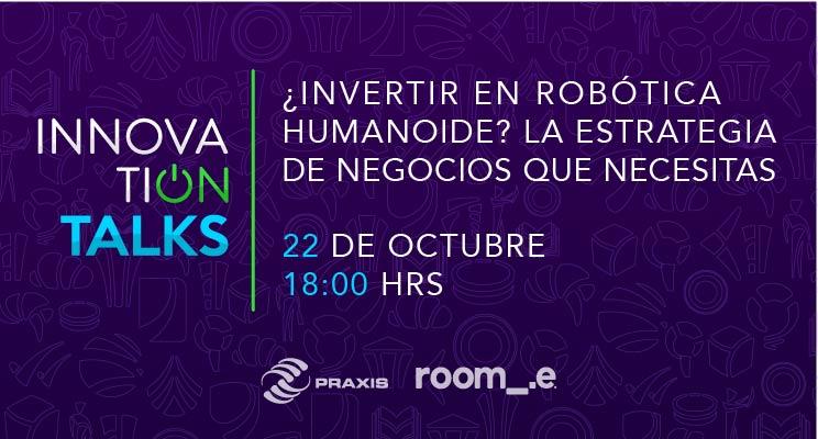 Innovation Talks el 22 de octubre a las 18:00 horas