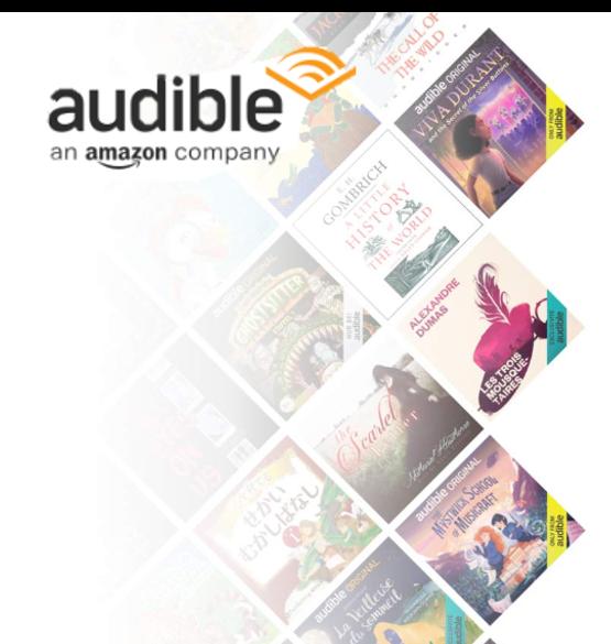 Con tus hijos en casa aquí te dejamos recursos de Audible.com